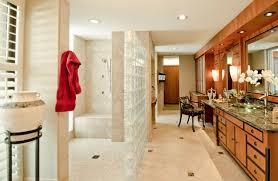 elegant master bathroom expansion deb