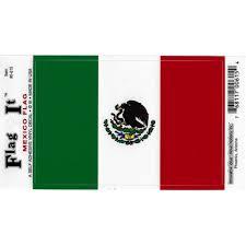 Mexico Flag Car Decal Sticker Pack Of 2 Green White Red 3 25 X 4 75 Walmart Com Walmart Com