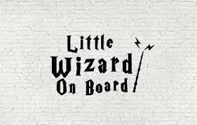 Little Wizard On Board Baby On Board Car Decal Etsy In 2020 Car Decals Wizard Car Decals Vinyl
