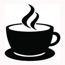 Amazon Com Coffee Cup Sticker Cappuccino Mug Drink Car Window Vinyl Decal Hot Caffeine S2 Die Cut Vinyl Decal For Windows Cars Trucks Tool Boxes Laptops Macbook Virtually Any Hard Smooth