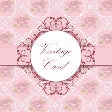Ilustracion Vectorial De Un Marco Vintage Sobre Fondo Floral Para