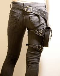 leather leg holster bags