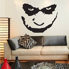 Batman The Joker Face Wall Decal Sticker Art Vinyl Mural Home Decor Wall Stickers For Kids Rooms Custom Made Color Size 57x72cm Sticker For Kids Room Wall Decals Stickerswall Stickers For Kids Aliexpress