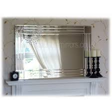 mirrors large glass framed