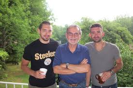 My favorite singer Aaron Shust with his brother Nick, and his dad ...