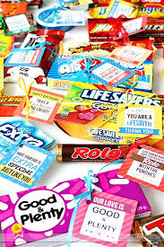 clever candy sayings with candy es