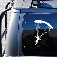 Langru Personality Skydiving Parachute Sticker Decal Art Car Aircraft Car Stying Car Accessories Jdm Car Sticker Jdm Stickers Jdmcar Stickers Decals Aliexpress