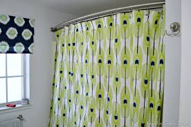 make a grommet topped shower curtain