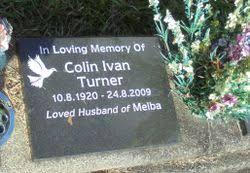 Colin Ivan Turner (1920-2009) - Find A Grave Memorial
