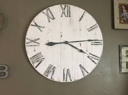 china wooden wall clock and home decor