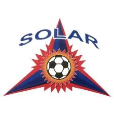Solar Soccer Club Car Decal Sticker
