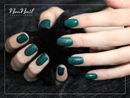 Zielony Manicure Hybrydowy Neonail Paznokcie Manicure Lakier