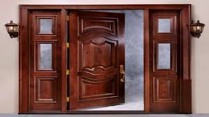 single front door design indian style