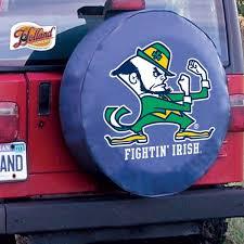 University Of Notre Dame Car Accessories Hitch Covers Notre Dame Fighting Irish Auto Decals Shop Und Com