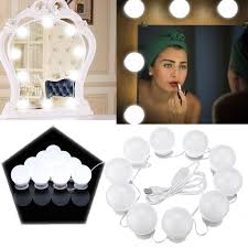 makeup 10w usb touch control led vanity