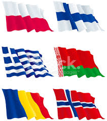 Zestaw Flagi Państw Europy Stock Vector - FreeImages.com