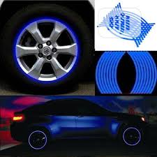 Blue 18 Strips Motorcycle Car Wheel Tire Stickers In Maryland Vehicle Parts Accessories Ib Star Limited Jiji Ng For Sale In Maryland Buy Vehicle Parts Accessories From
