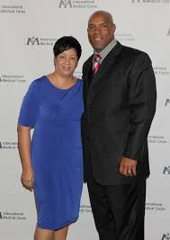 Former NFL player Marvin Smith and his wife Karla   Internat…   Flickr