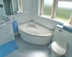 corner tub bathroom designs small