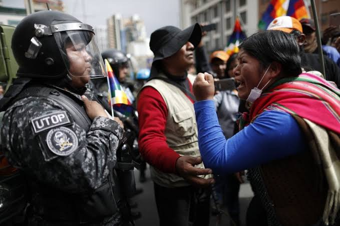 Image result for bolivia clashes""