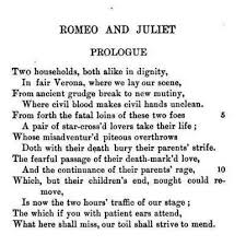 prologue romeo juliet via facebook on we heart it