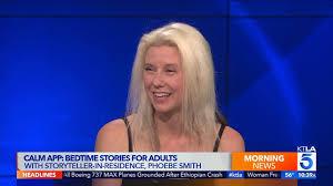 Phoebe Smith Tells Adult Bedtime Stories Through the Calm App | KTLA