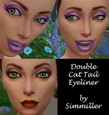 mod the sims eyeliner double cat