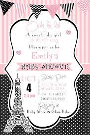 100 Invitaciones Personalizada Paris Nina Cumpleanos Baby Shower Rosa Blanco Sobres Amazon Es Juguetes Y Juegos
