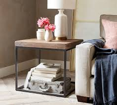 malcolm side table pottery barn