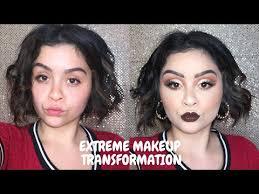 extreme makeup transformation fall