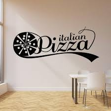 Italian Pizza Wall Stickers For Fast Food Store Vinyl Wall Decal Decor Restaurant Nodic Home Decoration Self Adhesive Wall Art Stickers Tree Personalized Wall Stickers From Joystickers 9 95 Dhgate Com