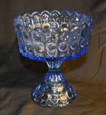 glass compote pedestal dish