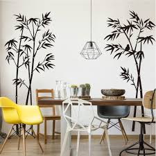 Creative Bamboo Wall Stickers For Living Room Adhesive Bedroom Nature Wall Decals Home Decor Wall Poster Buy At The Price Of 7 89 In Aliexpress Com Imall Com