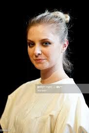 Fashion designer Abigail Stewart backstage before the Abigail Stewart...  News Photo - Getty Images