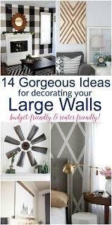 large diy wall decor ideas