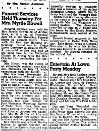 1957 Myrtle Howell Obituary - Newspapers.com