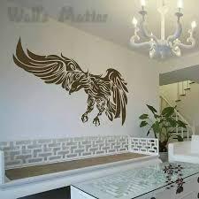 Dctal Eagle Wall Decal Hawk Wall Stickers Animal Home Wall Decor Wall Decals Sticker Sticker Tagsticker Kid Aliexpress