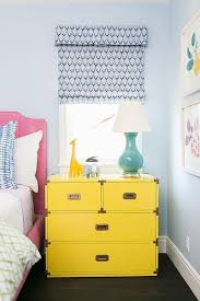 Yellow And Blue Kids Bedroom Design Contemporary Girl S Room