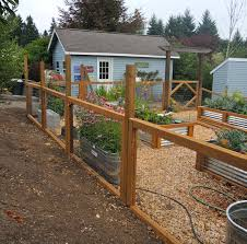 Garden Fence Ideas Fenced Vegetable Garden Diy Garden Fence Garden Fencing