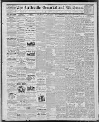 The Circleville Democrat and watchman. (Circleville, Ohio), 1879-09-19 page  1 - Circleville Democrat and Watchman -