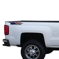 Trail Boss American Flag Vinyl Decal For Truck Bed Fits Gmc Chevrolet Roe Graphics And Apparel