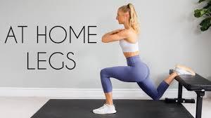 leg workout bodyweight no equipment