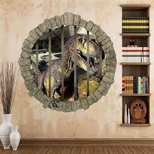 3danimal Dinosaurs Wall Stickers Jurassic Park Home Decoration Zoo Kids Room Decal Movie Animal Mural Art For Bebroom Decor Wall Cling Art Wall Cling Decals From Totwo3 4 79 Dhgate Com