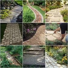18 diy garden path ideas