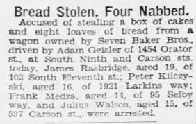 Seven Baker Brothers truck robbed - driven by Adam Geisler - Newspapers.com