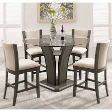 glass kitchen dining room sets