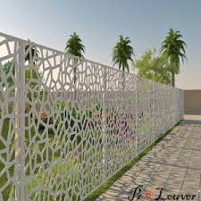 Cnc Laser Cut Screen Decorative Aluminum 5005 Series Panel Used For Fence For Sale Laser Cut Screen Manufacturer From China 109384929