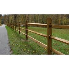 Unbranded 4 In X 4 In X 5 1 3 Ft Pressure Treated Pine 2 Hole Fence Corner Post 0240454 The Home Depot Rail Fence Post And Rail Fence Split Rail Fence