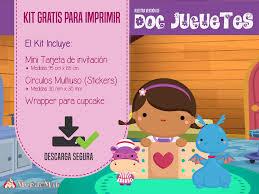 Doctora Juguetes Invitaciones Para Imprimir Y Mas Mundo Mab