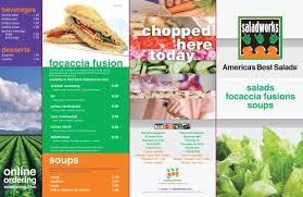 menu saladworks